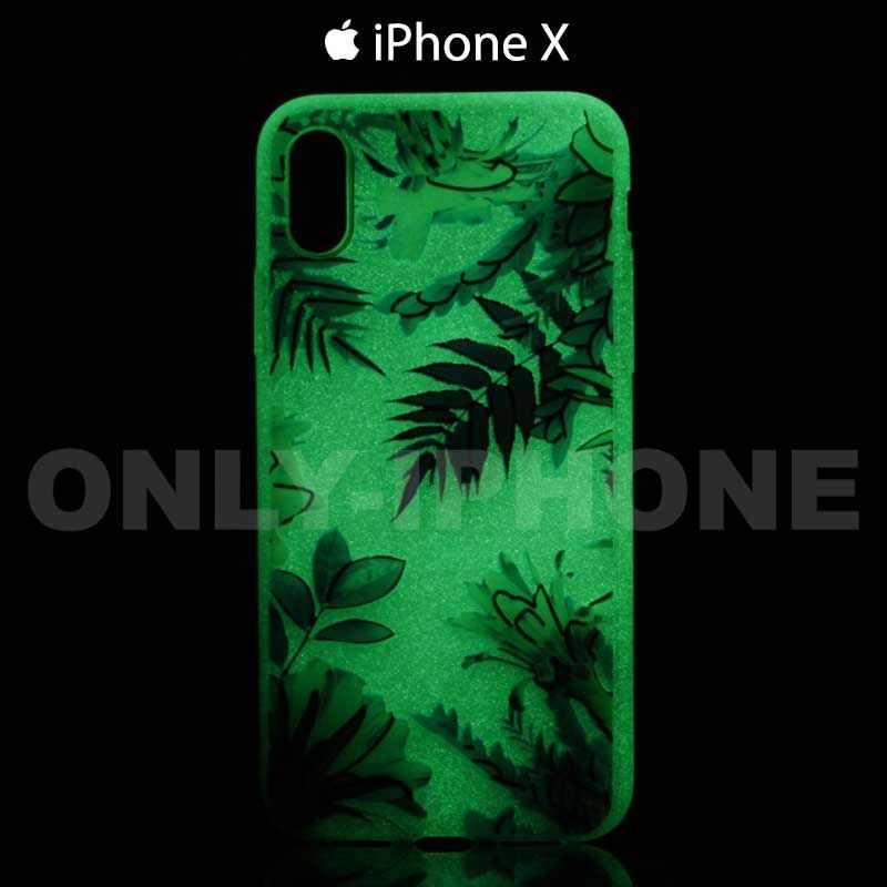 coque phosphorescente iphone x