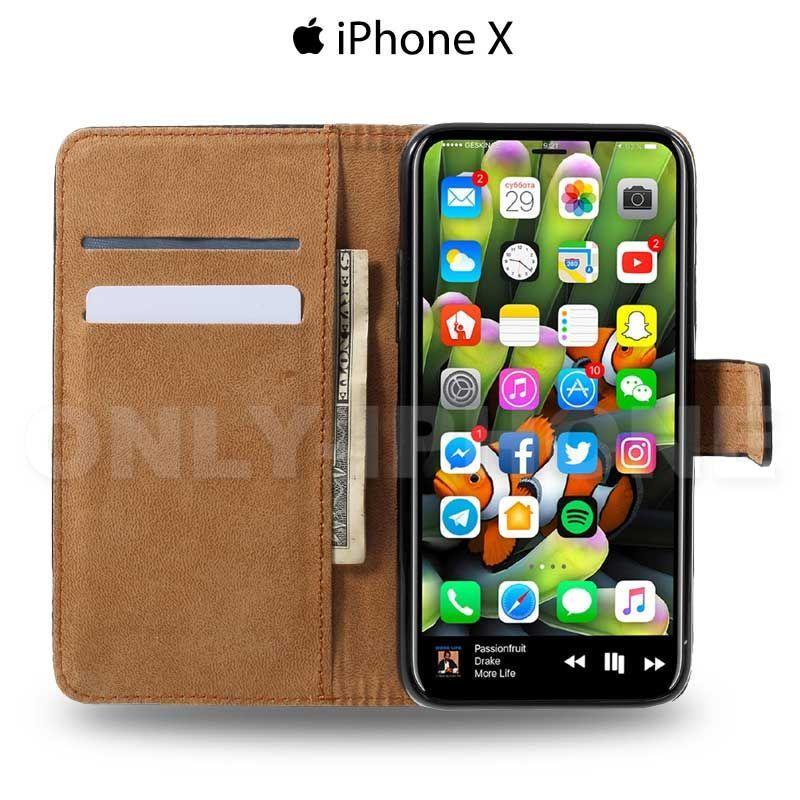 iphone x coque etui