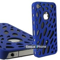 Coque Worms iPhone 4 Bleue