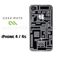 Coque iPhone 4S labyrinthe transparente