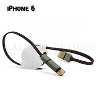 Cable retractable iphone 6 samsung