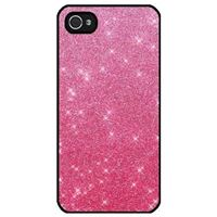 Coque iPhone 5 paillette Slim rose