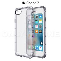 Coque iPhone 7 anti chutes transparent black