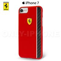 Coque iPhone 7 Scuderia Ferrari rouge Paddock collection
