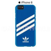 Coque iPhone 8 adidas Bleu