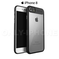 Coque iPhone 8 hybride Noir