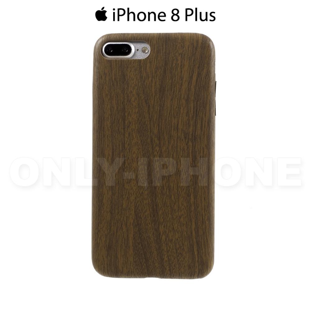 coque iphone 8 plus marron