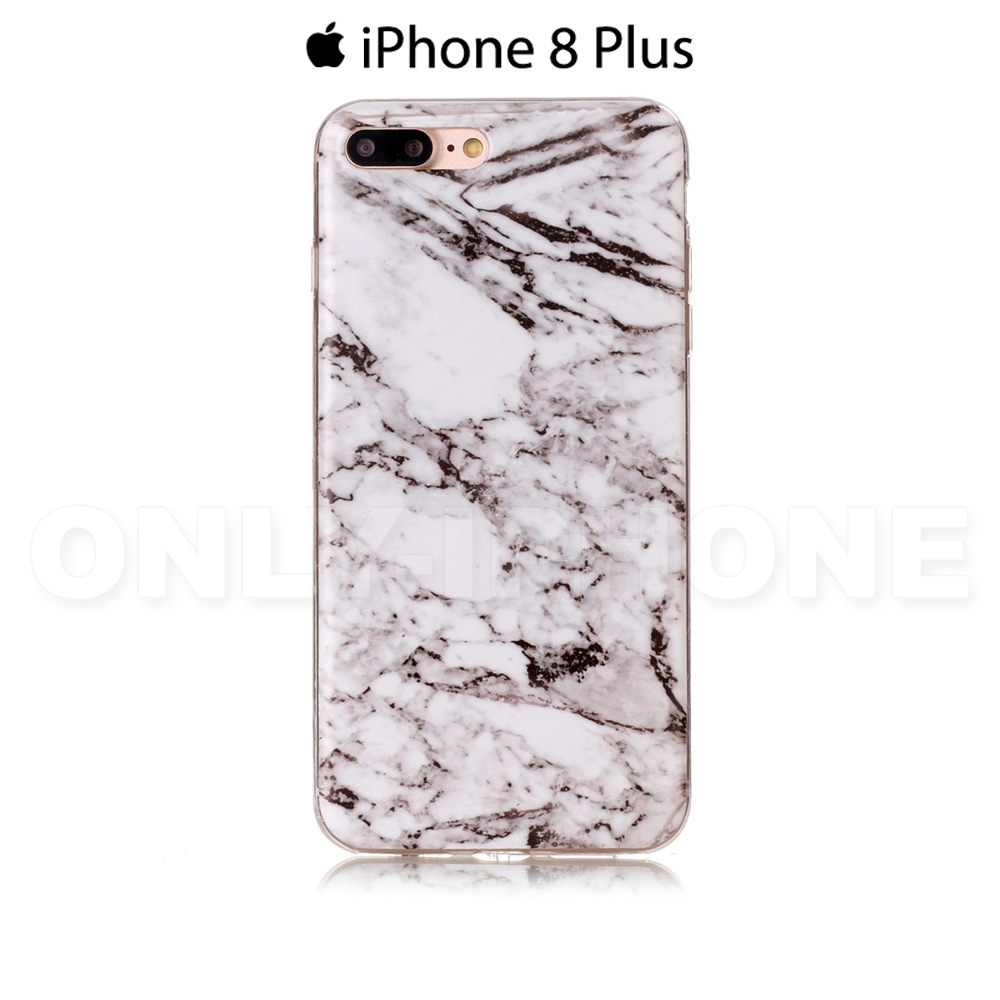 coque iphone 8 plus effet marbre souple etui iphone. Black Bedroom Furniture Sets. Home Design Ideas