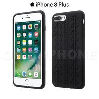 Coque iPhone 8 Plus pneu Noir