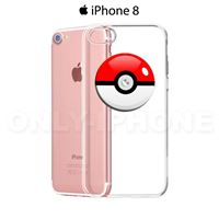 Coque iPhone 8 PokémonGo! PokéBall Transparent
