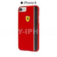 Coque iPhone 8 Scuderia Ferrari Noir