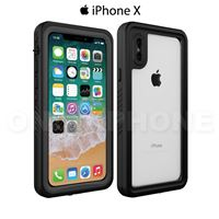 Coque iPhone Waterproof certifiée IP68 Noir