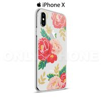 Coque iPhone X Roses rouges et roses Rose