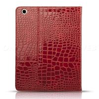 Étui iPad mini rouge croco