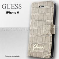 etui guess croco beige iphone 6