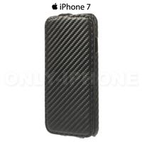 Etui iPhone 7 carbone