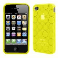 coque iphone 4 silicone cercle aqua