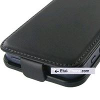 Etui iPhone 5 cuir noir Rancho