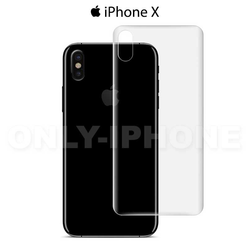 film de protection vitre arri re iphone x pack de 2. Black Bedroom Furniture Sets. Home Design Ideas