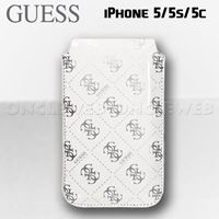housse iphone guess blanche iphone 5/5s/5c