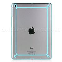 Protection iPad Mini bleu cristal bumper