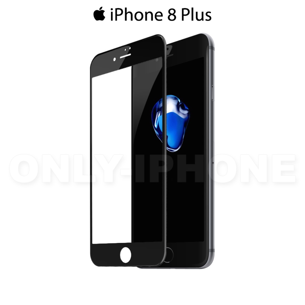 verre tremp 3d pour iphone 8 plus etui iphone. Black Bedroom Furniture Sets. Home Design Ideas