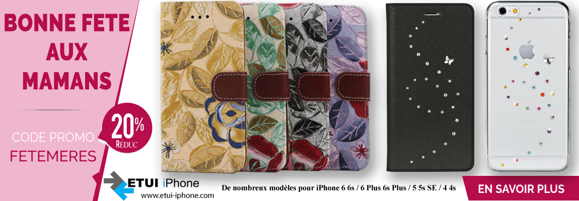 Etui iphone et coque iphone en promotion
