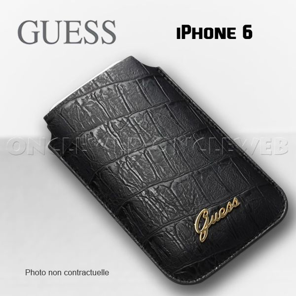 housse iphone 6 guess croco