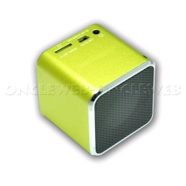 mini enceinte portable usb radio fm bleu accessoires ipad. Black Bedroom Furniture Sets. Home Design Ideas
