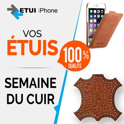 Semaine spéciale sur le cuir et les protections pour iPhone