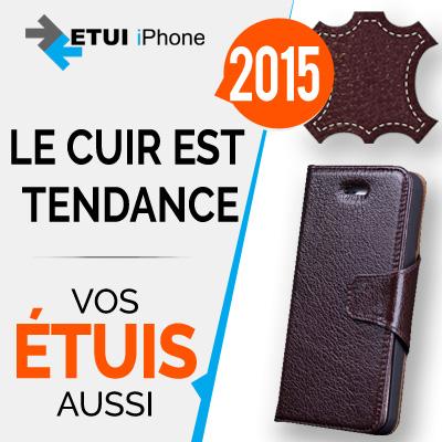 iPhone et cuir, un mariage tendance pour 2015 !